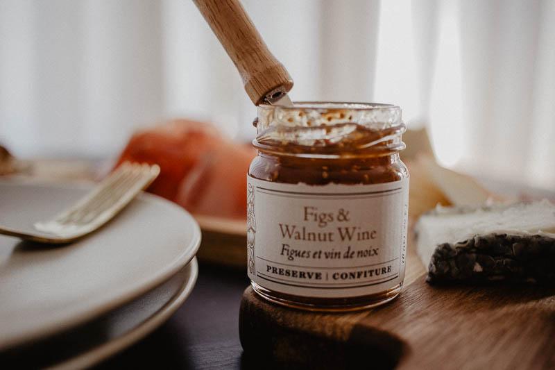 Fig And Walnut Wine Preserve