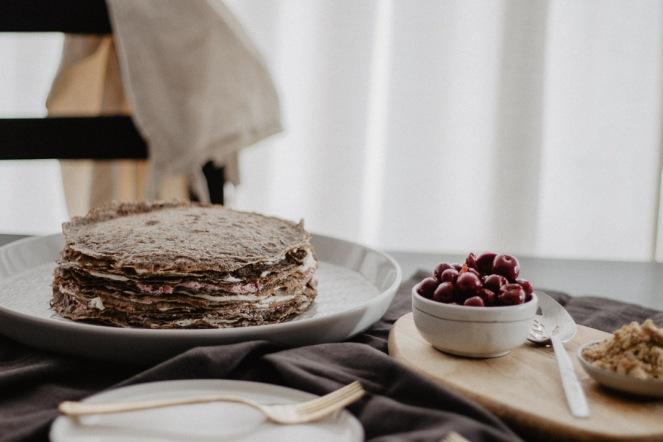 Naked Crêpe Cake