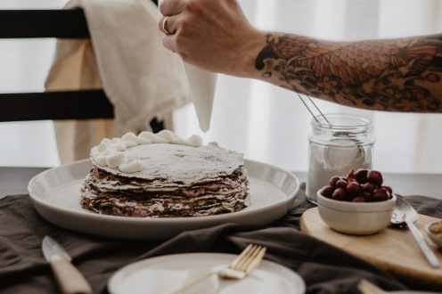 Crêpe Cake Topping